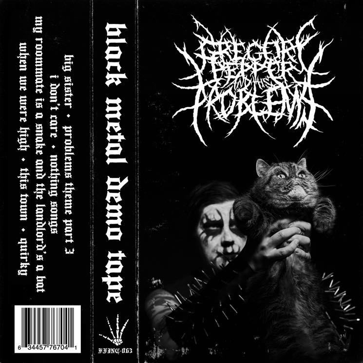 Gregory Pepper and His Problems Black Metal Demo Tape