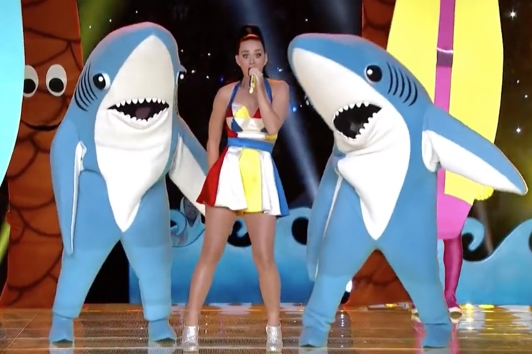 "Katy Perry's Attempt to Trademark ""Left Shark"" Gets Rejected"