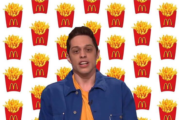 ​Pete Davidson Spent $400 on McDonald's at the 'Avengers' Movie