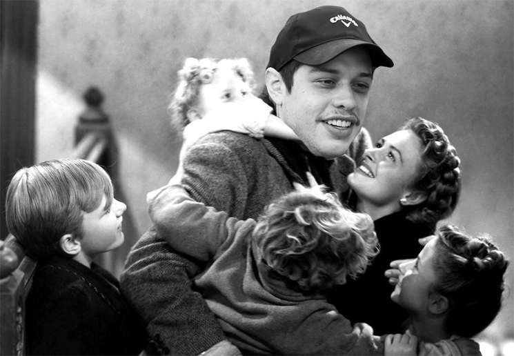 Pete Davidson Is Starring in a New Version of 'It's a Wonderful Life'