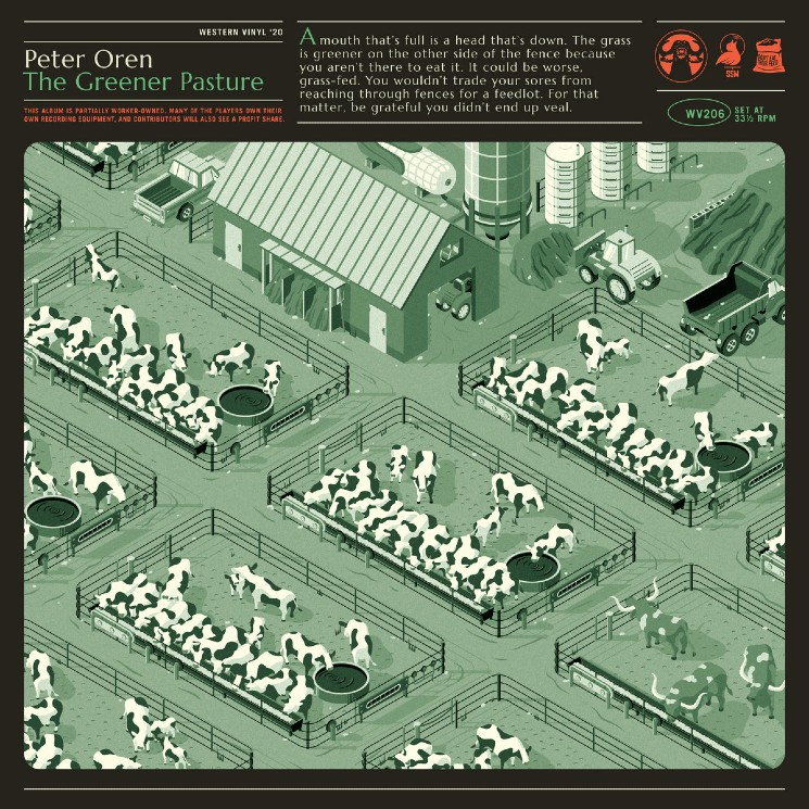 Peter Oren Doesn't Practice What He Preaches on 'The Greener Pasture'