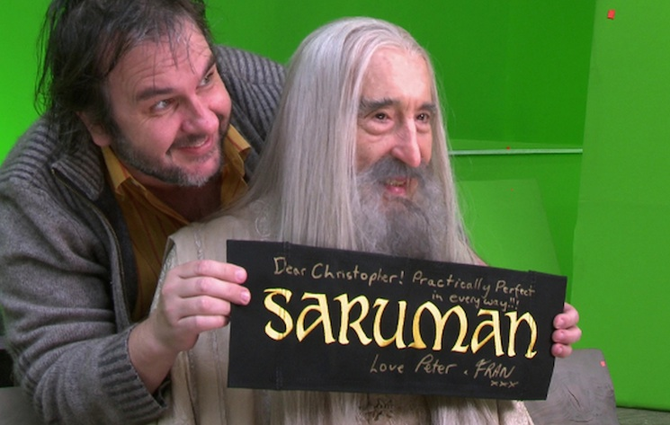 Peter Jackson Pays Tribute to Christopher Lee