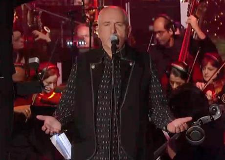 Peter Gabriel 'Red Rain' (live on 'Letterman')