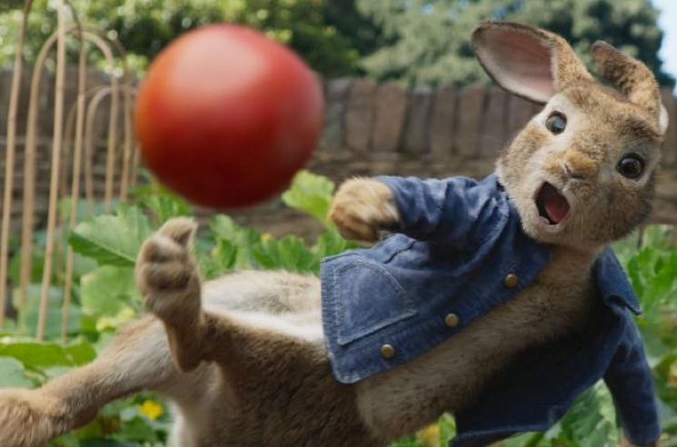 Parents Are Pissed at 'Peter Rabbit' Because CGI Bunnies Threw Berries at an Old Man