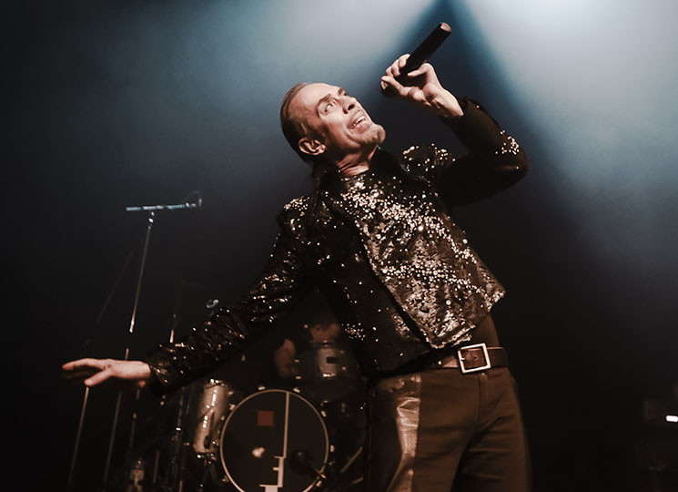 Peter Murphy Vogue Theatre, Vancouver BC, January 19