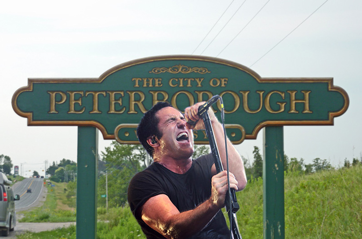 Peterborough's Mayor Is a Nine Inch Nails Fan