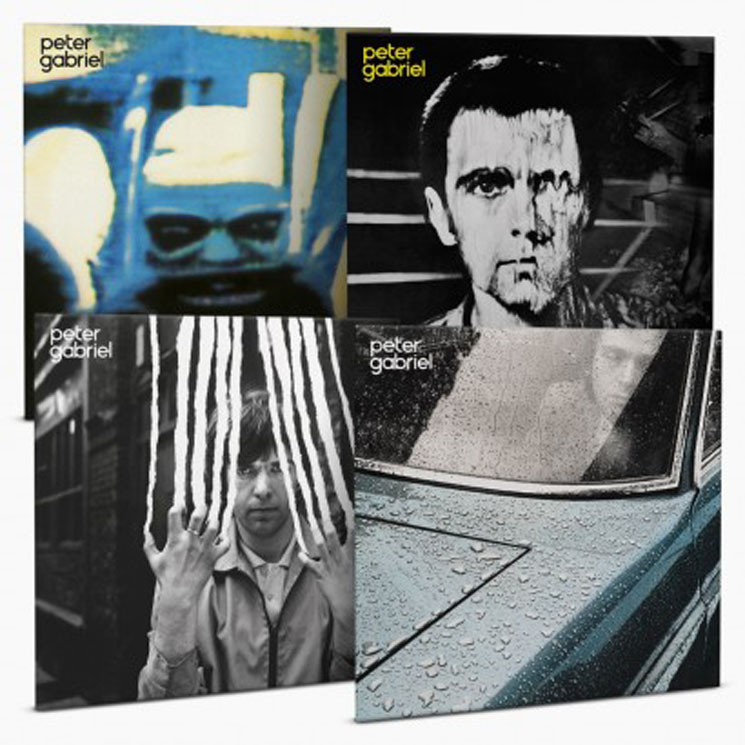 Peter Gabriel's First Four Albums Treated to Vinyl Reissue