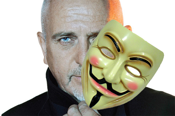 Peter Gabriel's New 'Snowden' Song Is a Bit Much