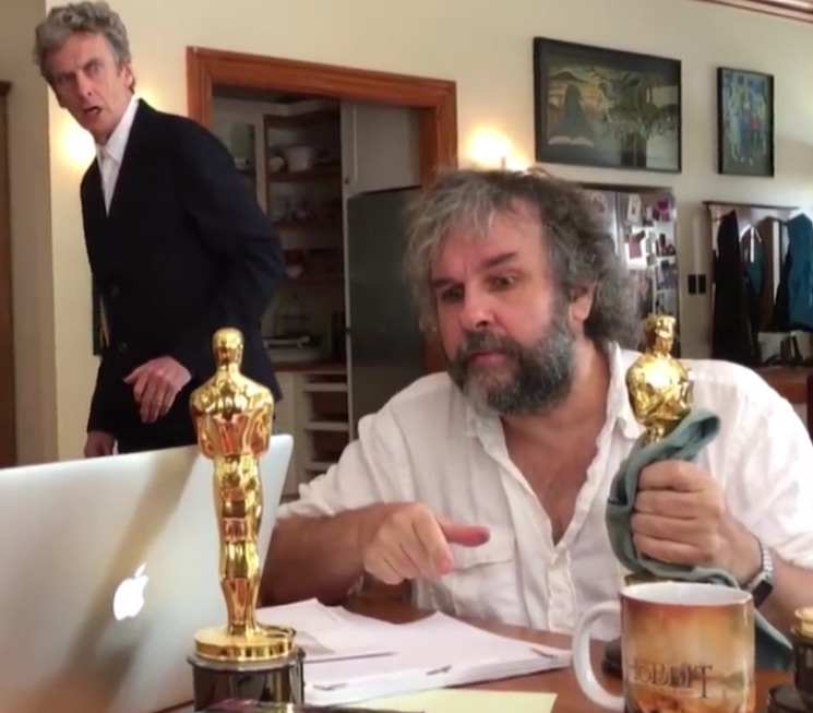 Peter Jackson Hints at 'Doctor Who' Episode in New Video