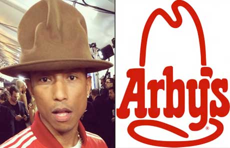 Pharrell's Grammy Hat Bought by Arby's for $44,100