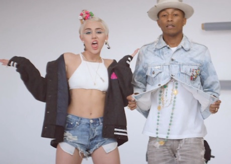 "Pharrell ""Come Get It Bae"" (ft. Miley Cyrus) (video)"