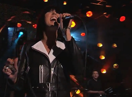"Phantogram ""Fall in Love""/""Black Out Days"" (live on 'Kimmel')"