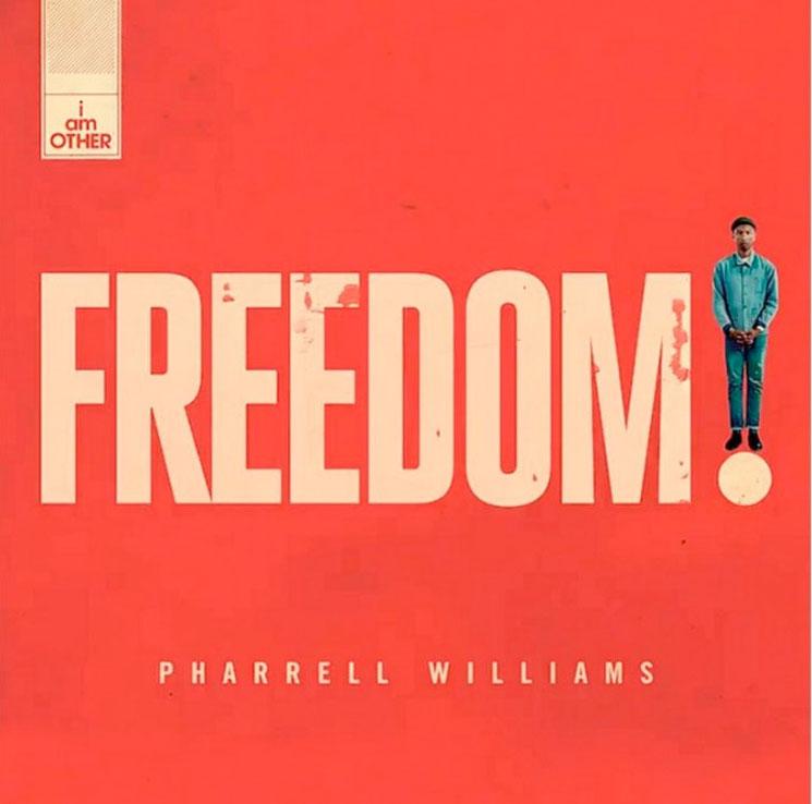 "Pharrell Williams ""Freedom"""