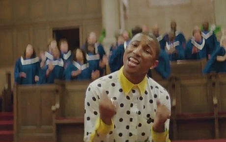 "Pharrell Williams ""Happy"" (24-hour video)"