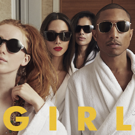 Pharrell Gets Daft Punk, Justin Timberlake, Miley Cyrus and Alicia Keys for 'G I R L'
