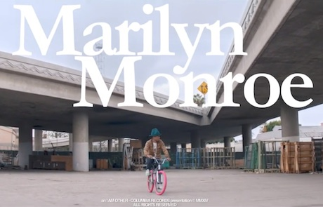 "Pharrell Williams ""Marilyn Monroe"" (video)"
