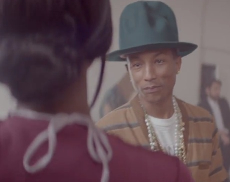 "Pharrell Williams ""Dear G I R L"" (video)"