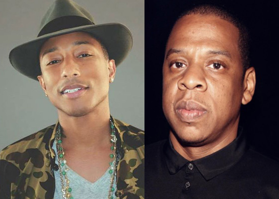 Pharrell and JAY-Z Preview New Song 'Entrepreneur'