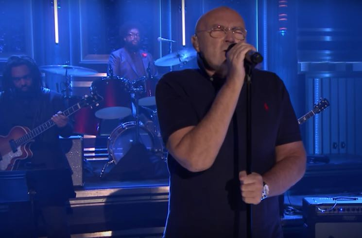 Watch a Post-Retirement Phil Collins Play 'In the Air Tonight' with the Roots