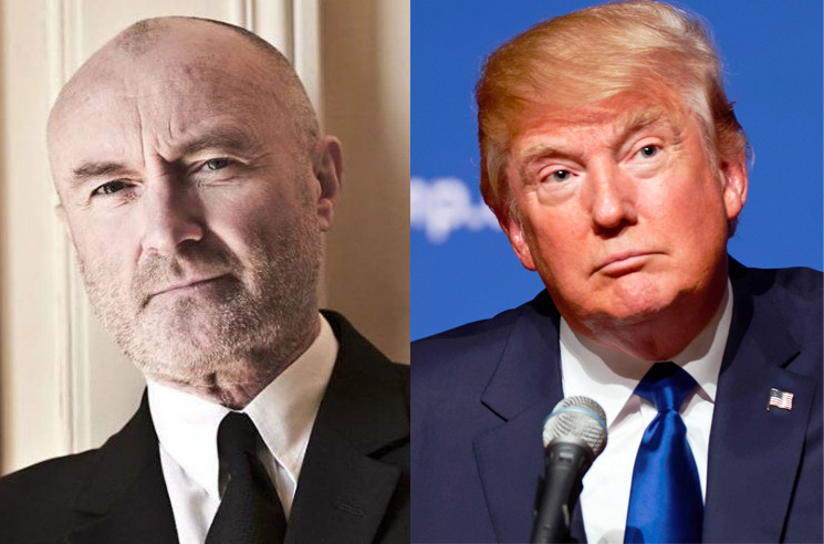 Phil Collins Slaps Donald Trump with Cease-and-Desist for Playing 'In the Air Tonight' at Rally