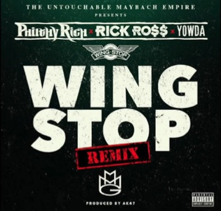 Philthy Rich 'Wing Stop' (remix ft. Rick Ross, Yowda)