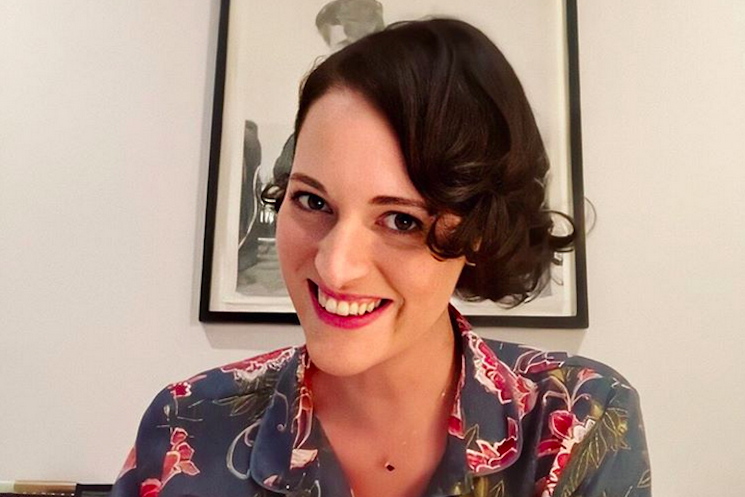 Phoebe Waller-Bridge Is in Lockdown with the Wall of Penises from 'Fleabag'