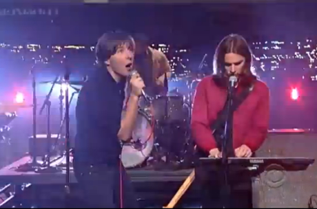 "Phoenix ""Trying to Be Cool"" / ""Drakkar Noir"" (live on 'Letterman')"