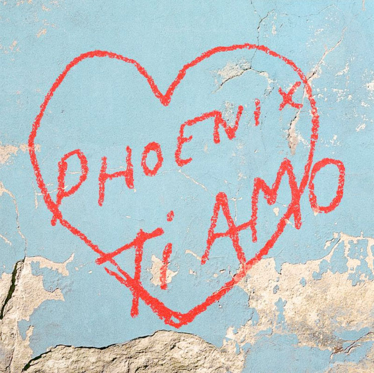 "Phoenix Share ""J-Boy,"" Detail New 'Ti Amo' Album"