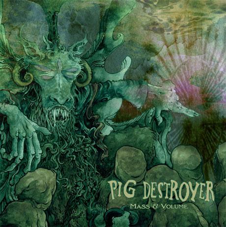 Pig Destroyer 'Mass & Volume' EP