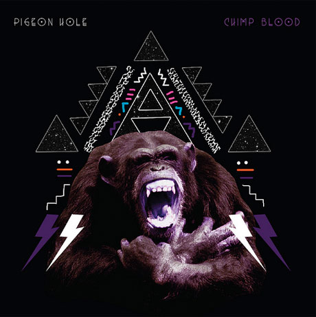 Pigeon Hole Chimp Blood