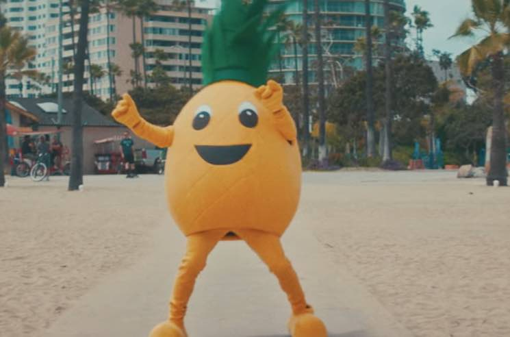 "​Ty Dolla $ign, Gucci Mane and Quavo Got a Giant Dancing Pineapple for the ""Pineapple"" Video"