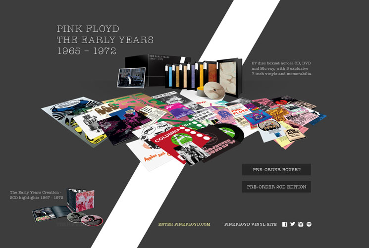 Pink Floyd Unearth an Epic Amount of Rarities for 27-Disc 'Early Years' Box Set