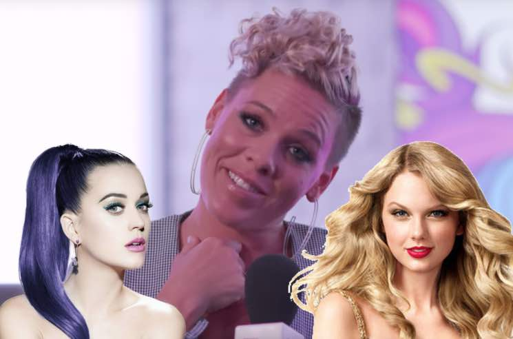 ​P!nk Takes a Side in the Taylor Swift/Katy Perry Feud