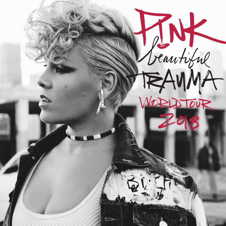 "​P!nk Brings ""Beautiful Trauma World Tour"" to Canada"