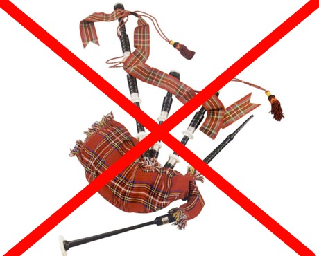 Vancouver Buskers Banned from Using Bagpipes, Percussion