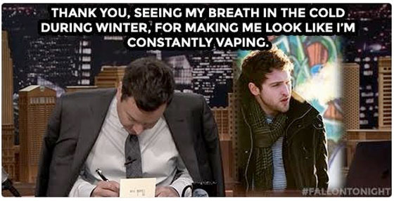 The Pistolwhips Appear on 'The Tonight Show' to Help Show Jimmy Fallon Constantly Vaping