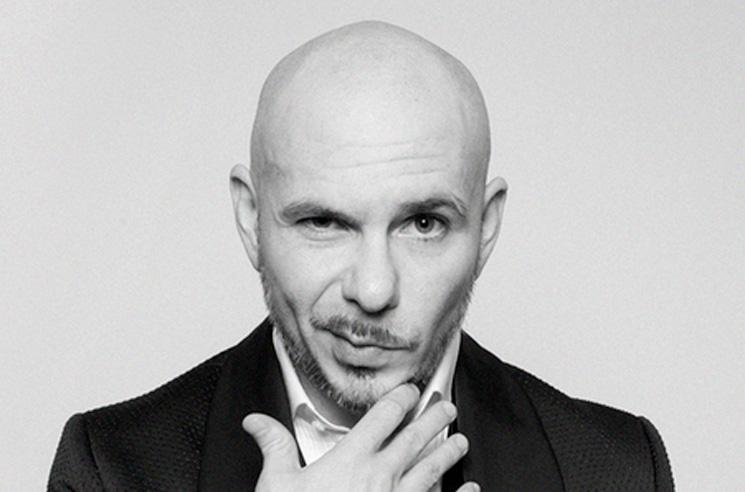Pitbull Actually Trademarked His 'EEEEEEEYOOOOOO'