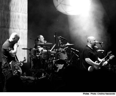 Pixies Live Stream in Paris