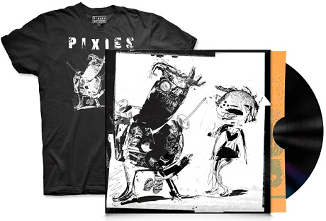 Pixies Announce EP, Premiere Video