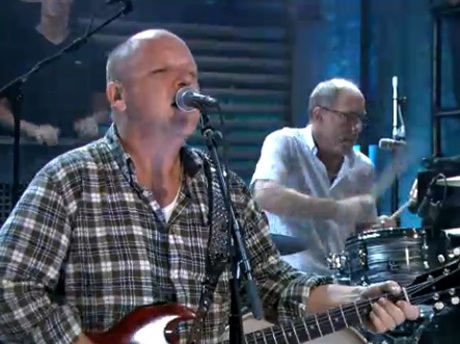 "Pixies ""Bag Boy"" / ""Indie Cindy"" (live on 'Fallon')"