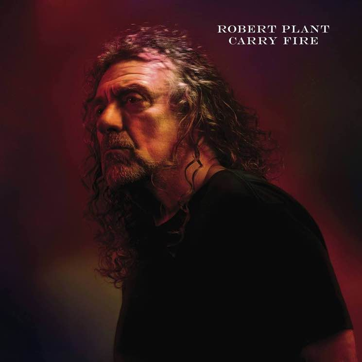 Robert Plant 'Carry Fire' (album stream)