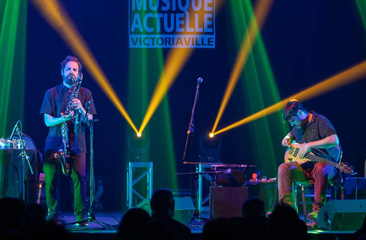 Philippe Lauzier and Éric Normand FIMAV, Victoriaville QC, May 18