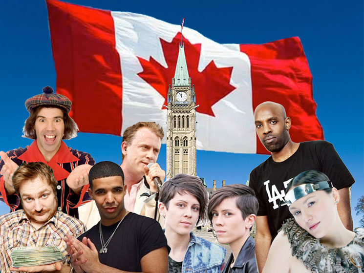10 Canadian Musicians Who Should Pull a Kanye and Run for Prime Minister