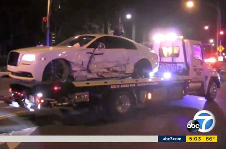 Post Malone Involved in Car Crash