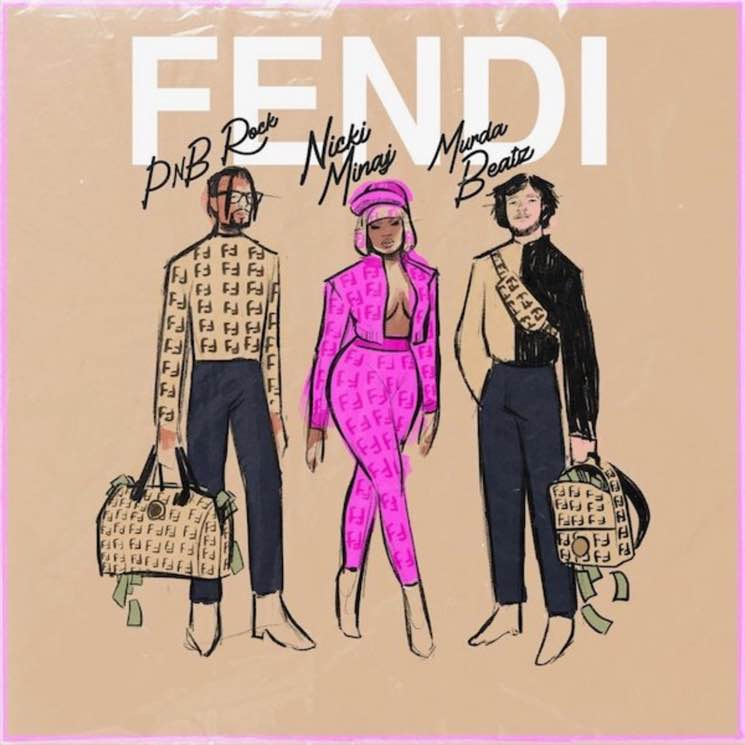 ​Nicki Minaj Comes Out of Retirement to Join PnB Rock and Murda Beatz on 'Fendi'