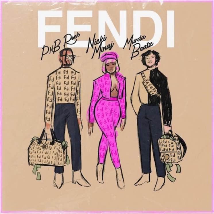 "Nicki Minaj Comes Out of Retirement to Join PnB Rock and Murda Beatz on ""Fendi"""