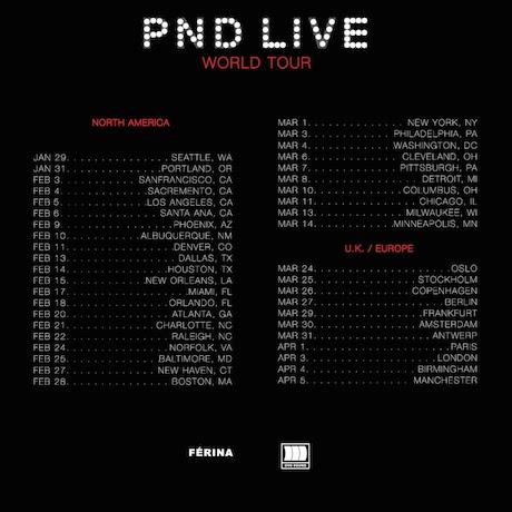 Partynextdoor '#PNDCOLOURS' (EP stream)