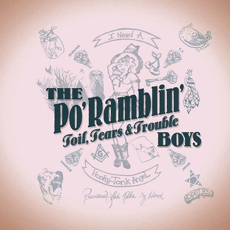 The Po' Ramblin' Boys Toil, Tears & Trouble