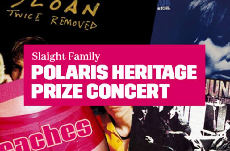 Peaches, Sloan, the Weather Station to Honour Polaris Heritage Prize Winners at Toronto Tribute Show