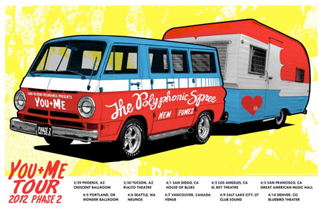 The Polyphonic Spree Line Up West Coast Tour, Play Vancouver